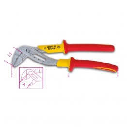 Slip joint plier, Gas plier, Water Plier boxed joint, insulated 1000V