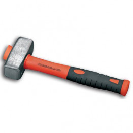 German Type Stoning Hammer Fiberglass Handle 1kg, 69667