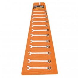 Ratchet Combination Wrench, 12pcs - 44652212
