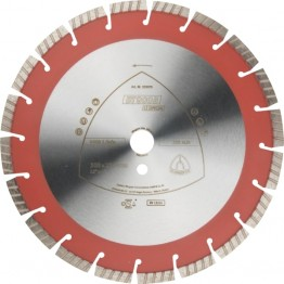 Klingspor Diamond Cutting Disc DT 900 B Special, 350 x 20 mm, 22 segments, for concrete