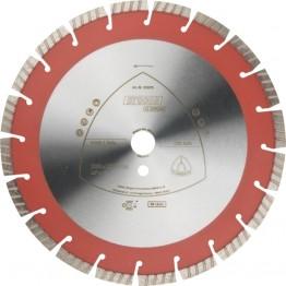 Klingspor Diamond Cutting Disc DT 900 B Special, 350 x 20 mm, 22 segments, for concrete-KL325080