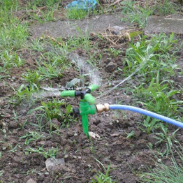 360 Degree Rotary Adjustable Garden Sprinkler 3m