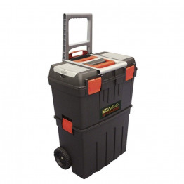 Plastic Tool Box With Trolley 470 X 290 x 630mm, 50968
