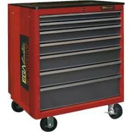 Metallic 7 Drawers Roller Cabinet 51025