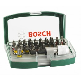 32-piece Screwdriver Bit Set With Colour Coding