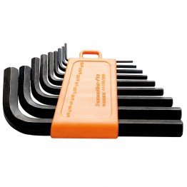 9 pieces Hex key set - Imperial measurement 44420/209