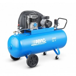 Air compressor, 3 HP, 200Ltrs