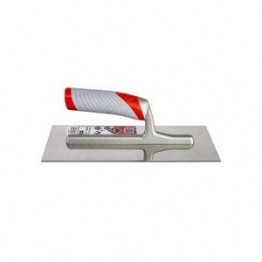"""Stainless Steel Notched Trowel 11""""( 28cm.) Rubi 76950"""