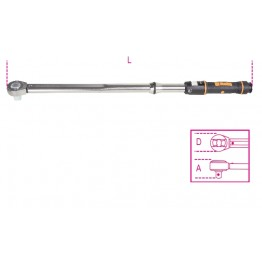 Click-Type Torque Wrenches with push-through ratchets 667N/30