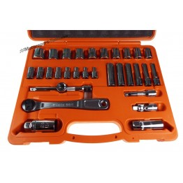 "BETA easy socket set | 3/8"" Square Drive in Case 913A"