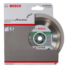 Diamond cutting disc Professional for Ceramic 110 x 22,23 x 1,6 x 7,5 mm