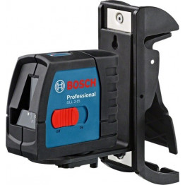 GLL 2-15 Compact Cross Line Laser with BM3 Wall Mount