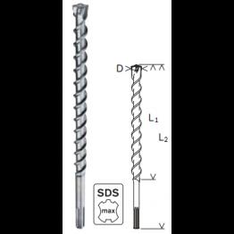 Hammer drill bit SDS-max-7 16 x 400 x 540 mm