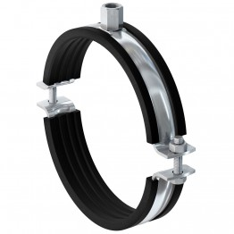 """Heavy Duty Pipe Clamp FRSM 1"""" M10/M12 - 50pcs Packed"""