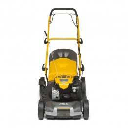 Petrol Lawn Mower 675 EXi Series- Briggs & Stratton Engine, COMBI 55 SQ B, 4hp