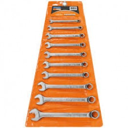 Combination Wrench Set, 10Pcs - 44660210