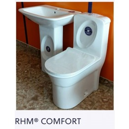 Royal Home Mate Comfort Complete Set   Flushwise Close Coupled Back-To-Wall WC - RHM01CWC