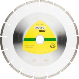Diamond Cutting Disc DT 300 U Supra, 300 x 25.4 x 2.8mm, 17 segments, for Universal - 1pc
