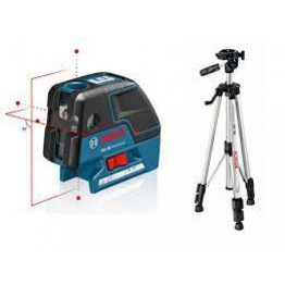 GCL 25 Five-Point Self-Leveling Alignment Laser and Cross-Line + BT 150
