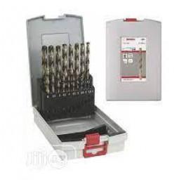 Pro Box, Metal drill bit set HSS Point TeQ, DIN 338 1-10 mm, 2608577351
