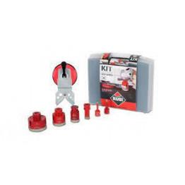 Set of 6pcs DryGres diamond drill bits kit, Rubi 50936