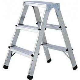 Double stepladder aluminum 2 x 2 levels - 0.7m | 1412030