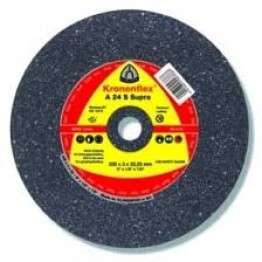 Kronenflex® grinding discs for Stainless steel A 24 N Supra, 115 x 22.23 x 6 mm, depressed for INOX 1PC