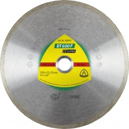 Diamond Cutting Disc DT 600 F SUPRA, 230 × 22.23 mm for Stoneware, Stove tiles, Stove tiles, glazed