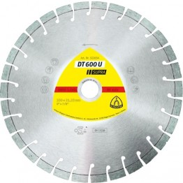 Diamond Cutting Disc DT 600 U Supra, 230 x 22.23 x 2.4mm, 30 segments, for Concrete - 1pc