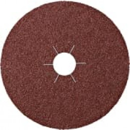 CS 561,Fibre Disc, 180 x 22 MM Grain 60 star shaped hole KL11063