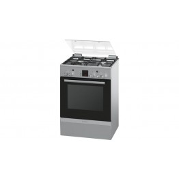 Freestanding 4Gas Cooker (Silver) 60CM HGA24W255M