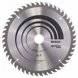 Circular Saw Blade Optiline Wood 235 X 35/25 X 2,5 mm