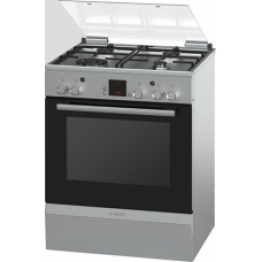 Freestanding 3GAS/1ELCT COOKER (SILVER) 60Ccm HGA23A150S