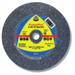 Kronenflex® Cutting-off wheel A 36 TZ SPECIAL, 180 x 22.23 x 2 mm, flat, for INOX