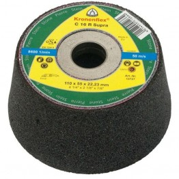 Kronenflex® C 16 R Supra Cup grinding wheels for Stone, Concrete 110 x 22.23 x 55 mm