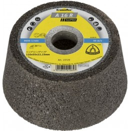 Kronenflex® Cup grinding A 16 R SUPRA 110 x 22.23 x 55 mm for Steel