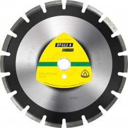 Klingspor Diamond Cutting Disc DT 612 A Extra, 300 x 25.4 x 2.8 mm, 18 segments, for Asphalt