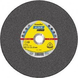 Kronenflex Cutting Off Wheel A 24 N SUPRA, 180 x 22.23 x 3 mm, depressed, for INOX - 1 pc