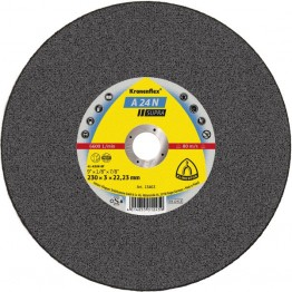 Kronenflex® Cutting Wheels A 24 N Supra, 115 x 22.23 x 2.5mm Depressed for Inox - 25pcs