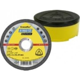 Special Kronenflex Cutting-off wheels A 960 TZ , 115 x 1 x 22.23mm, flat,  KL322180 for Stainless steel, Steel