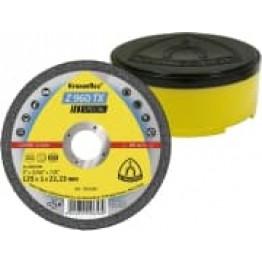 Kronenflex Special Cutting-off Wheels Z 960 TX, zirconia, 125x1x22.23mm, flat, for Stainless. steel KL322185