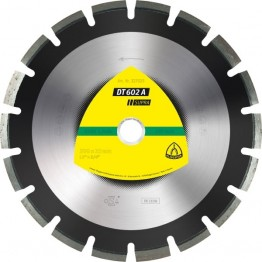Diamond Cutting Disc DT 602 A Supra, 500 x 25.4 x 3.7mm, 25 segments, for Alphalt - 1pc