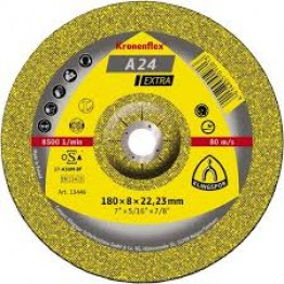 Kronenflex® grinding discs for Metals A 24 Extra, 100 x 16 x 6mm, depressed for metal 1 PC