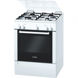 HGG223122Z Freestanding Gas Cooker 60cm - White