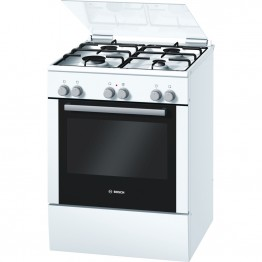 HGV524322Z Gas combination freestanding cooker - white