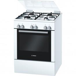 HGV524322Z Gas combination freestanding cooker - white