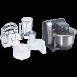 Kitchen machine - MUM4 550 W Black, Silver
