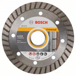 Diamond cutting discs Standard for Universal Turbo, 115x22.23x2.0x10.0mm, 2.608.602.393