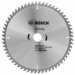 Circular Saw Blade Ecoline for Wood (B), 254x3.0x30/25.4, 60Teeth, 2.608.644.407
