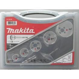 Makita Hole saw set 6-piece Set